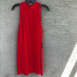 New express red dress